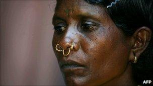A Dongria-Kondh tribal woman