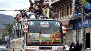 Bus in Swat