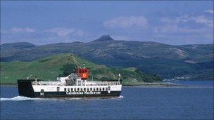 Raasay ferry at Skye