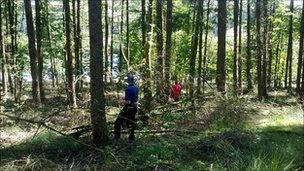 Rescuers searching for missing woman