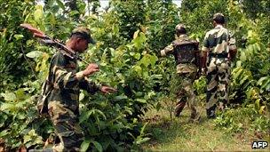 India security operation against rebels