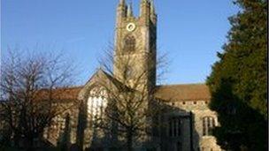 St Mary the Virgin church, in Ashford