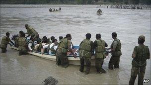 Flooding in Mingora