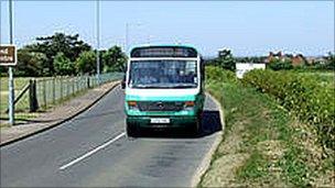 Norfolk Green Bus