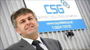 Calum Johnston of Contract Solutions Grampian