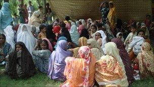Camp in the Layyah district, Pakistan. Photo: Plan International