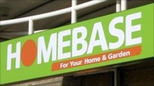 Generic Homebase sign