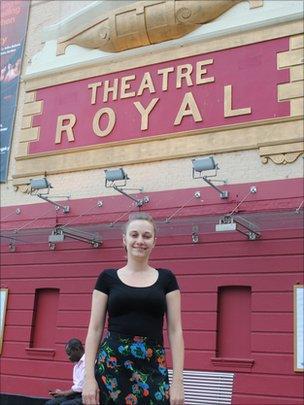 Charlotte Handel, head of Open Stage