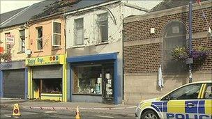 'Happy' Days gift shop damaged in fire