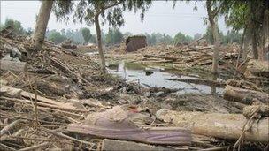 Azakhel camp, Pakistan