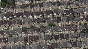 Terraced houses (Getty Images)