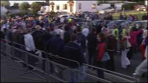 parade spectators