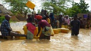 Flooding in Niamey, Niger