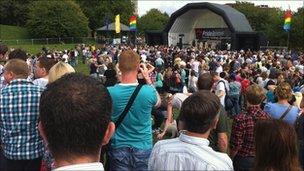 Gay Pride festival, Bristol