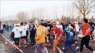 Backward runners Augsburg