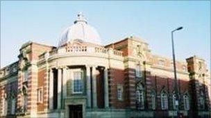 Blackpool central library