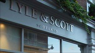Lyle & Scott Covent Garden store