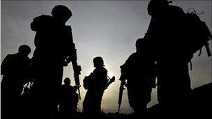 US troops