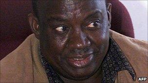 Gibson Sibanda photographed in 2003