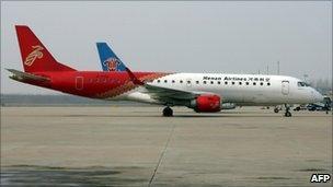 Henan Airlines Embraer ERJ-190 (file)