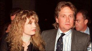 Diandra and Michael Douglas in 1994
