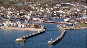 Ramsey harbour
