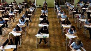 generic school exam