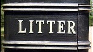 PCSOs will watch out for litter bugs