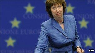 Baroness Ashton in Brussels, July 2010