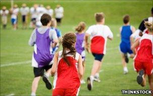 Pupils on a run