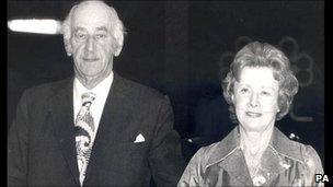Ted Castle and Barbara