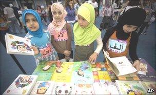 Lebanon Arabic books (AP)