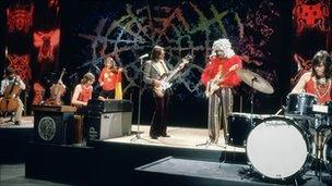 ELO performing on Top of the Pops in January 1973