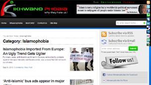 Screen shot of Ikhwanophobia.com