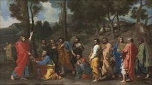 Ordination by Poussin