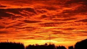 Sunrise at Logieburn