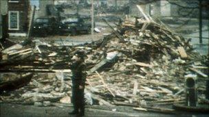 Aftermath of McGurk's Bar bombing