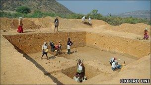 Dig site (Petraglia et al)