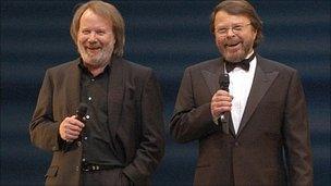 Bjorn Ulvaeus and Benny Andersson (2004)