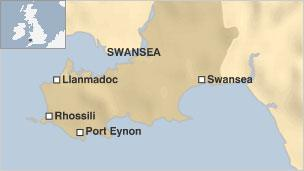New Gower stretch brings all Wales coastal path nearer  BBC News