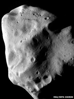 Asteroid Lutetia (Esa
