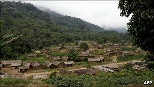 Village of Luvungi, eastern DR Congo
