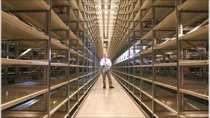 Bodleian warehouse