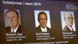 Nobel winners (AP)