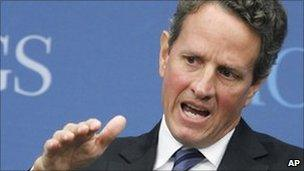 US Treasury Secretary Timothy Geithner. Photo: October 2010