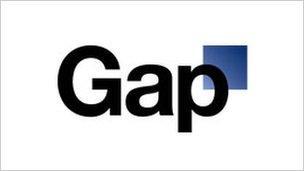 The scrapped Gap logo
