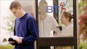 BT phone box