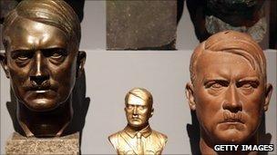 Busts of Adolf Hitler