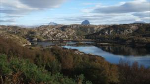 View from Achmelvich in Sutherland