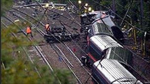 Hatfield crash site